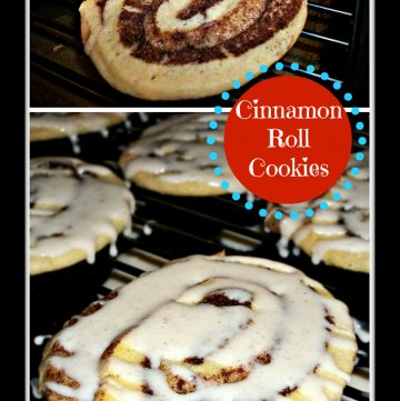 Cinnamon Roll Cookie ThisSillyGirlsLife.com