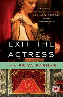 Exit The Actress by Priya Parmar