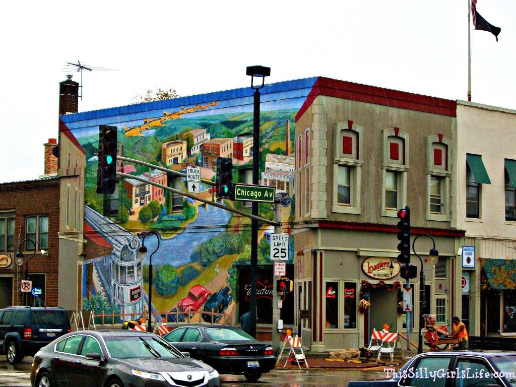 Naperville, IL Mural ThisSillyGirlsLife.com