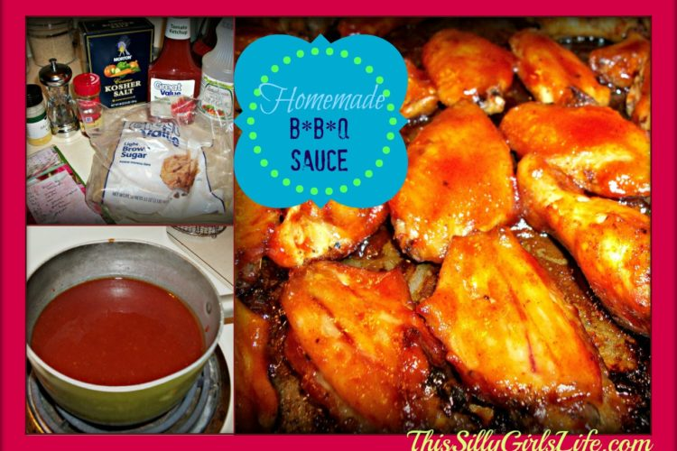 Homemade BBQ Sauce ThisSillyGirlsLife.com