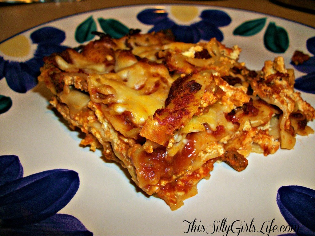 Plated Lasagna