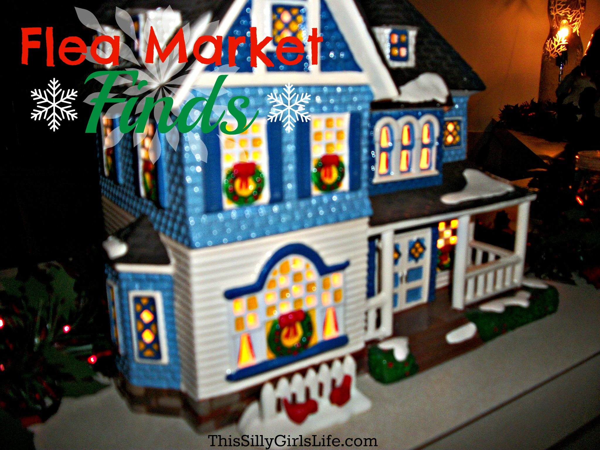 Flea Market Finds + Mini Holiday House Tour