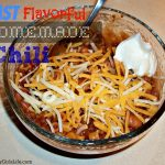 Fast Flavorful Homemade Chili Recipe from ThisSillyGirlsLife.com