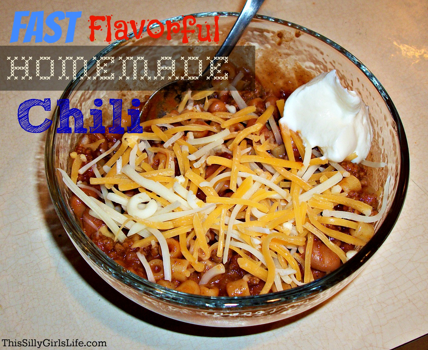 Fast, Flavorful, Homemade Chili