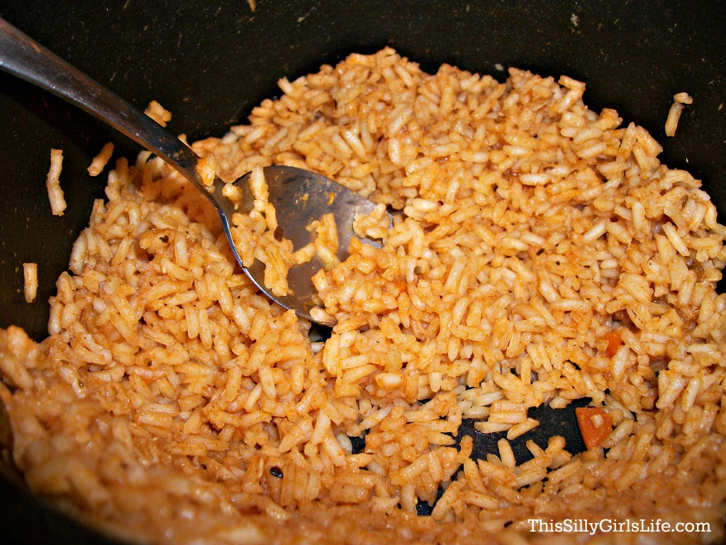 Spanish Rice Recipe from ThisSillyGirlsLife.com