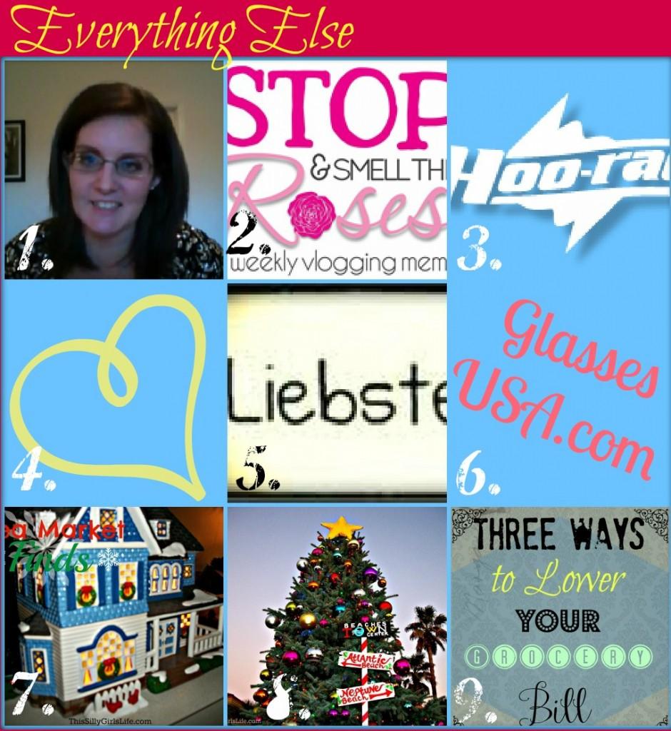 December Recap from ThisSillyGirlsLife.com