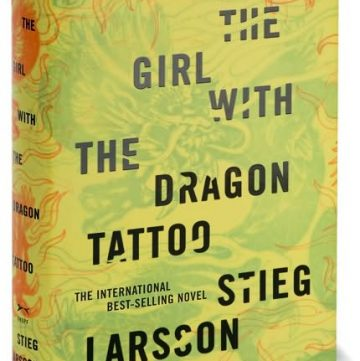 The Girl with the Dragon Tattoo book review from ThisSillyGirlsLife.com
