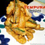 tempura vegetables