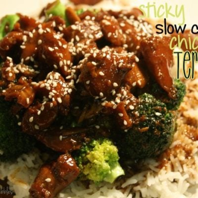 Sticky Slow Cooker Chicken Teriyaki {Guest Post}