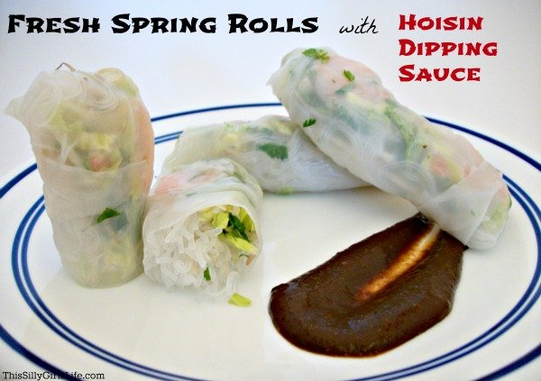 Shrimp Spring Rolls With Hoisin Dipping Sauce Recipes — Dishmaps