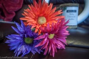 Summer Burlap Wreath