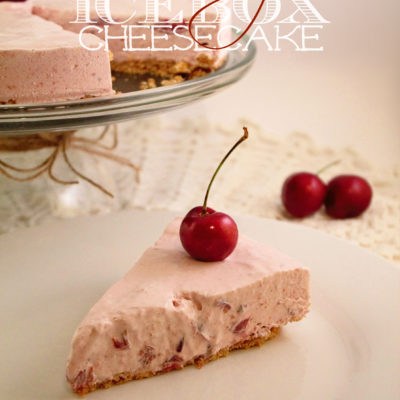 Cherry Icebox Cheesecake
