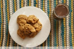 Pumpkin Chocolate Chip Cookies {Guest Post}