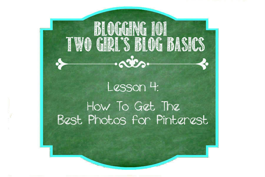 How to Get the Best Photos for Pinterest from https://ThisSillyGirlsLife.com #Pinterest #Photos #Blogging101
