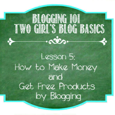 How to Make Money and Get Free Products by Blogging