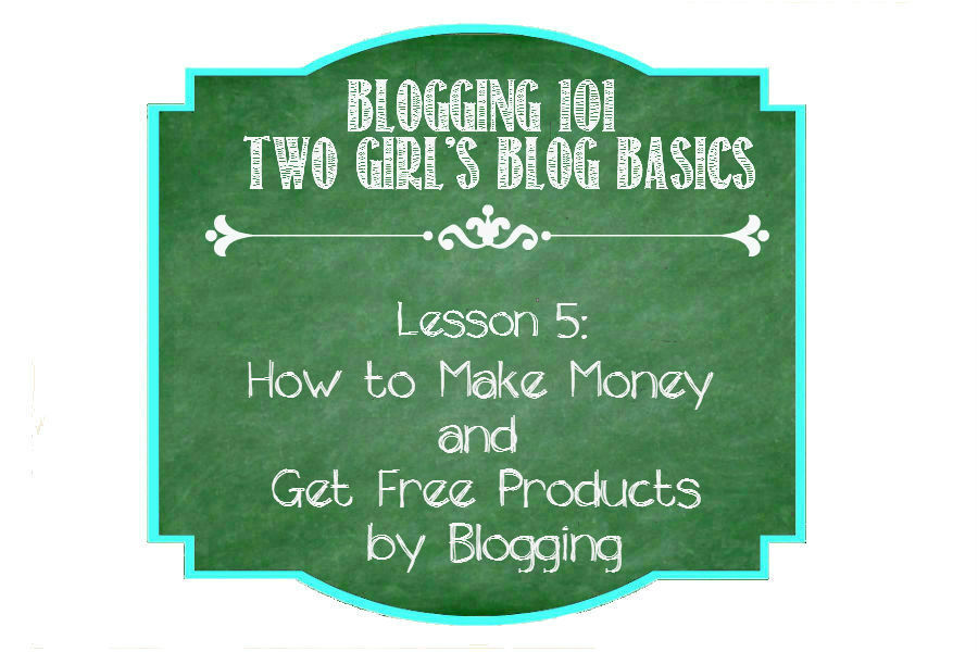 How to Make Money and Get Free Products by Blogging from http://ThisSillyGirlsLife.com #Blogging101 #MakeMoneyBlogging #FreeProducts