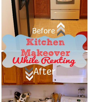 Kitchen Makeover While Renting