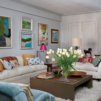 5 Ways to Add Flair to a White Room When Painting is Off Limits