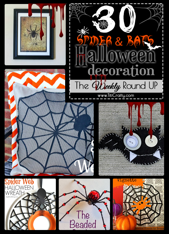 30-Halloween-Bats-and-Spiders-Decoration