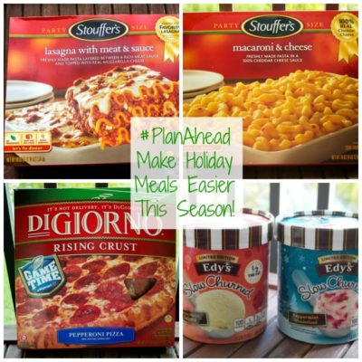 Making Family Size Holiday Meal Time Easier with Nestle #PlanAhead