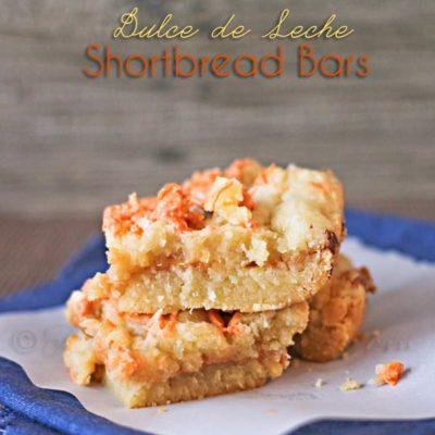 Dulce de Leche Shortbread Bars