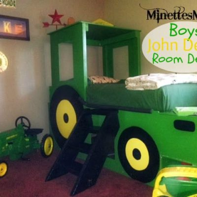 Boys John Deere Room Decor