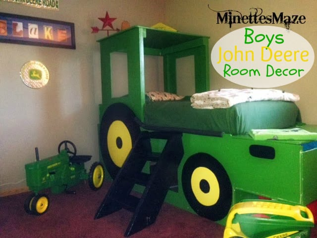 John Deere Boys Bedroom : Boys john deere room decor this silly girl s kitchen
