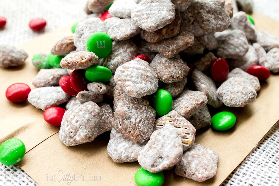 Reindeer Chow {Muddy Buddies} - This Silly Girl's Kitchen