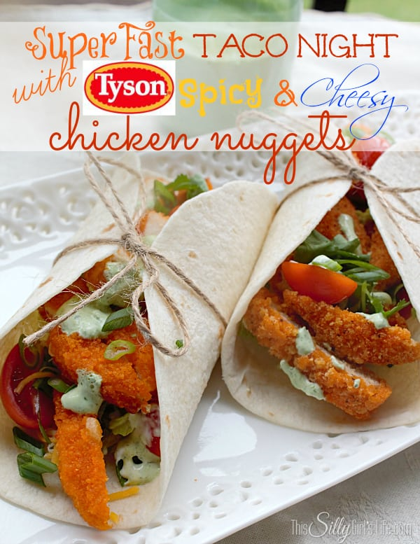 #ad Easy Dinner: Super Fast Taco Night with Tyson #LoveUrNuggets #cbias