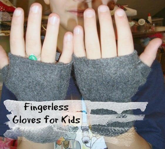 Fingerless Gloves for Kids {Guest Post}