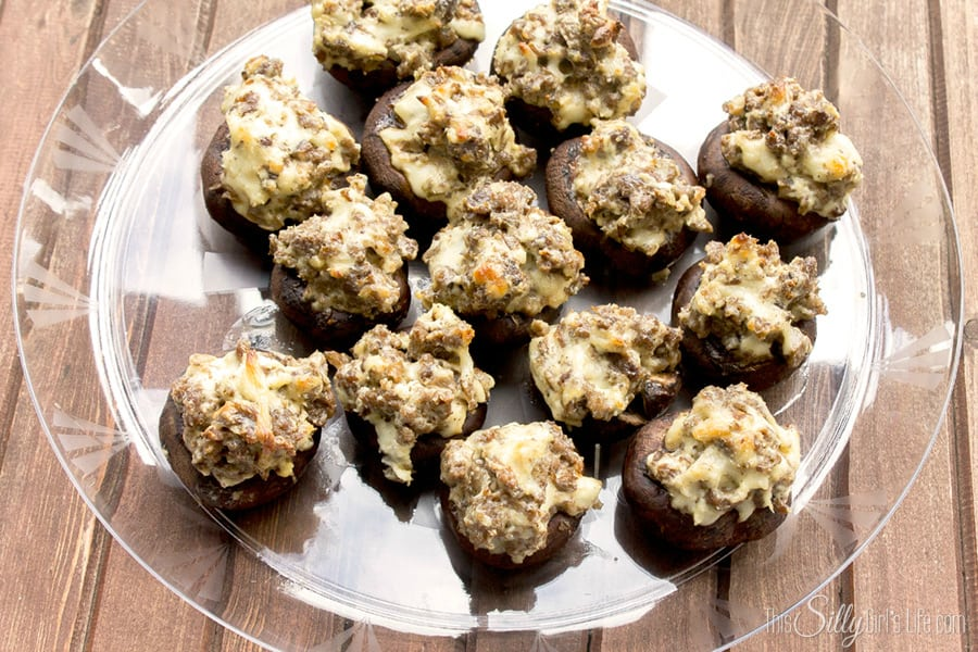 Cream Cheese Stuffed Mushrooms, a perfect twist on a classic appetizer ...