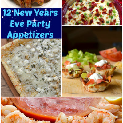 12 New Years Eve Party Appetizers {The Weekly Round UP}