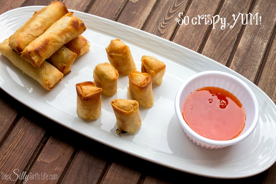 Holiday Appetizers: Spring Rolls from SeaPak! #PakTheParty #shop #cbias