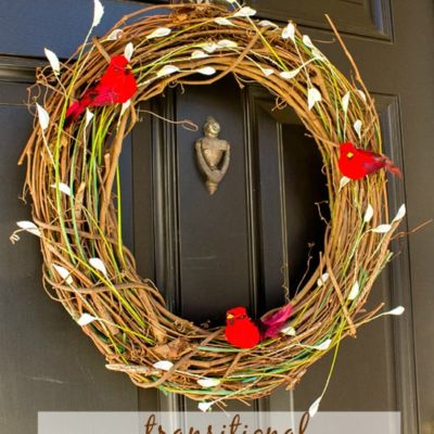 Transitional Winter Wreath