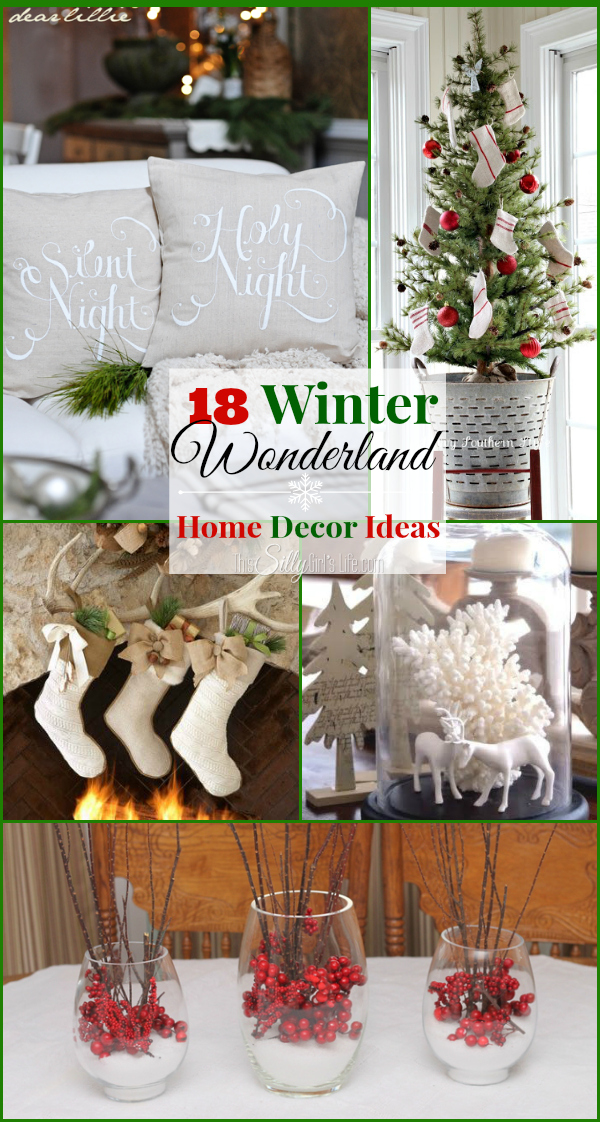 18 winter wonderland home decor ideas the weekly round up