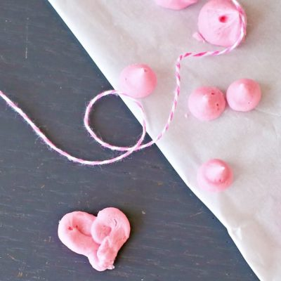 Hearts & Kisses Cream Cheese Mints