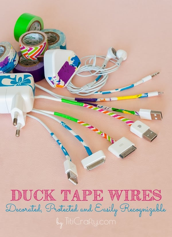 Duck-Tape-Wires-Protect-Decorate-DIY-Tutorial