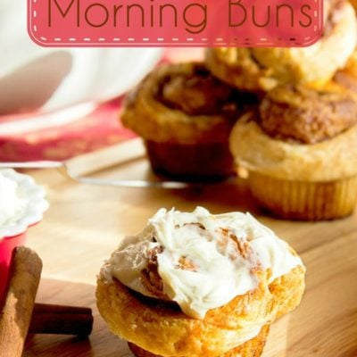 Cinnamon Roll Morning Buns