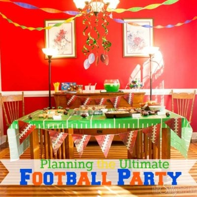 Planning the Ultimate Football Party