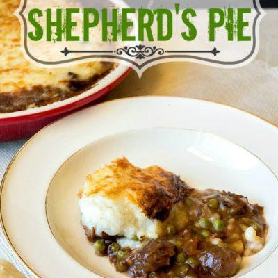 Easy Homemade Shepherd's Pie