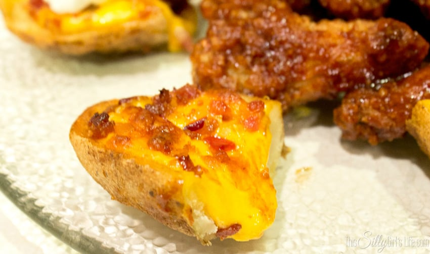 Game Day Appetizers: Potato Skins & Chicken Wings! #TGIFGameDay #CollectiveBias