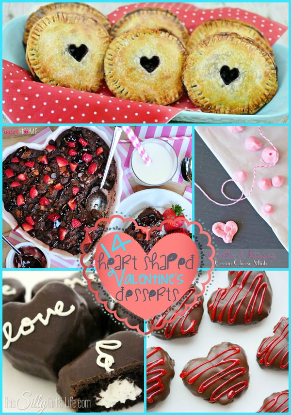 14 Heart Shaped Valentine's Desserts