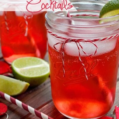 Cherry Limeade Cocktails