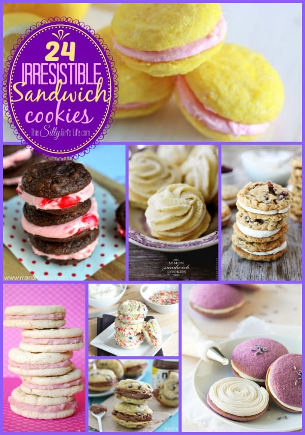 24 Irresistible Sandwich Cookies recipes