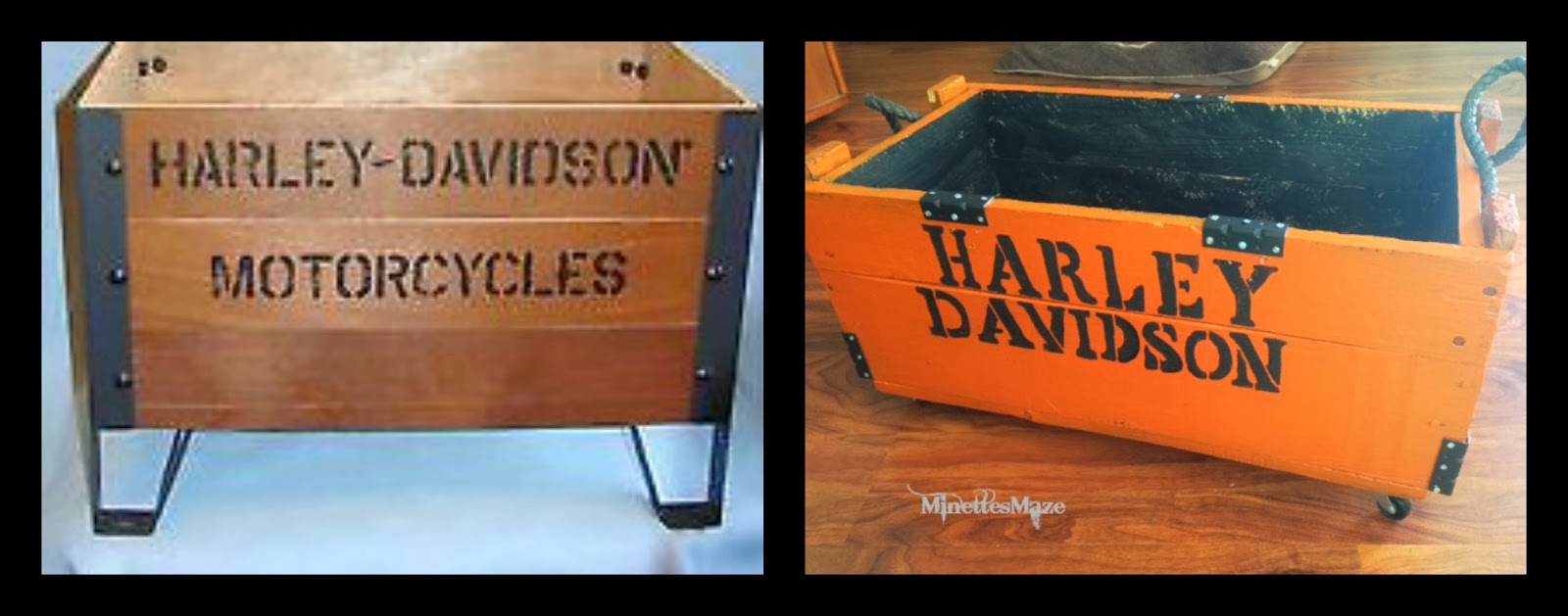 Harley Davidson Crate Knock Off