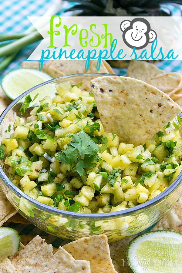Fresh Pineapple Salsa and Fresh Fruit Soda Pop: Jungle Book Inspired Recipes! #shop #JungleFresh #CollectiveBias