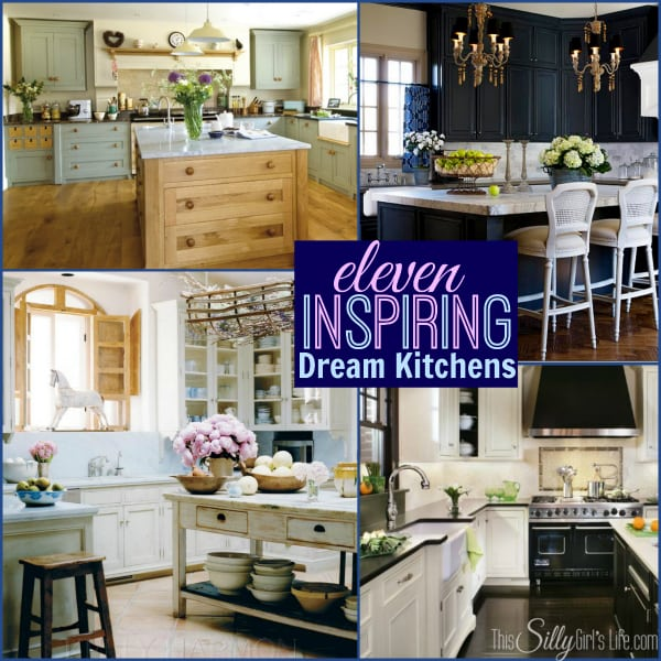 Eleven Inspiring Dream Kitchens, gorgeous inspiration for your dream home!