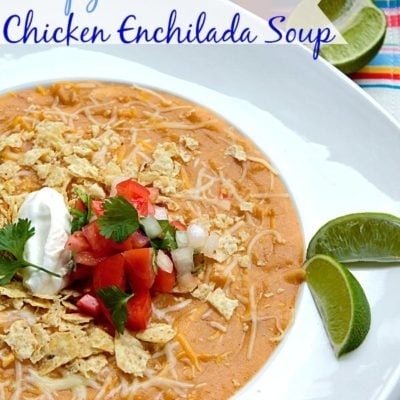 CopyCat Chili's Chicken Enchilada Soup