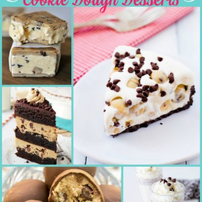 25 Irresistible Cookie Dough Desserts {The Weekly Round UP}