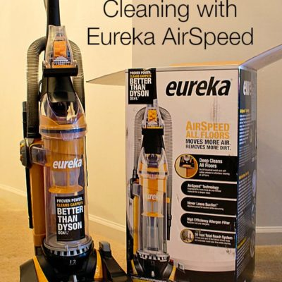 Tackling Spring Cleaning with Eureka AirSpeed
